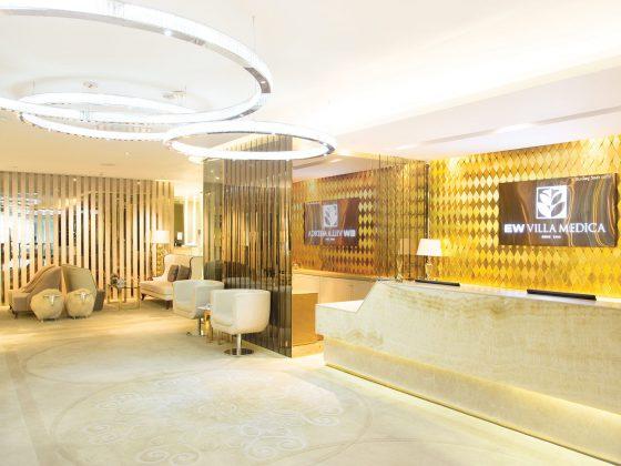 EW Villa Medica Bangkok Premier Center - Clinic's main reception area