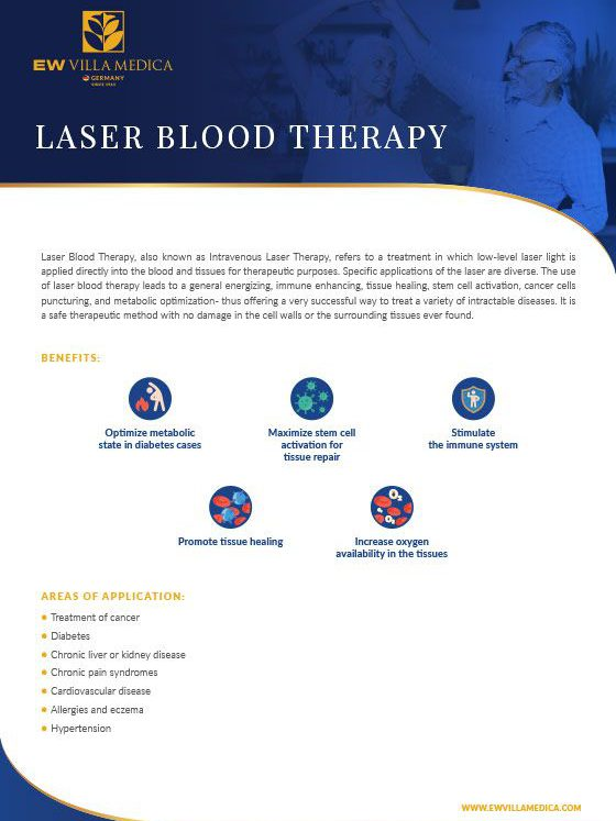 EW Villa Medica - Laser Blood Therapy