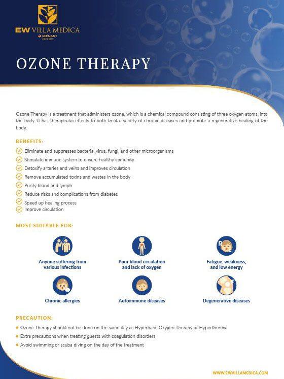 EW Villa Medica - Ozone Therapy