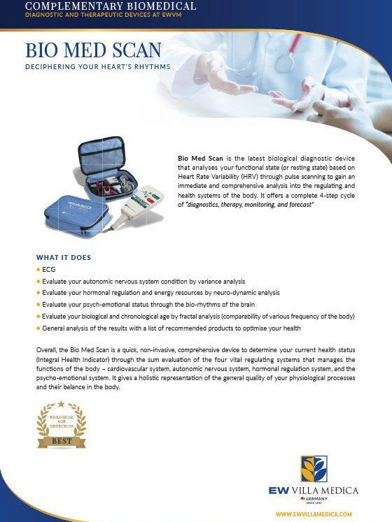 EW Villa Medica | BIO MED SCAN