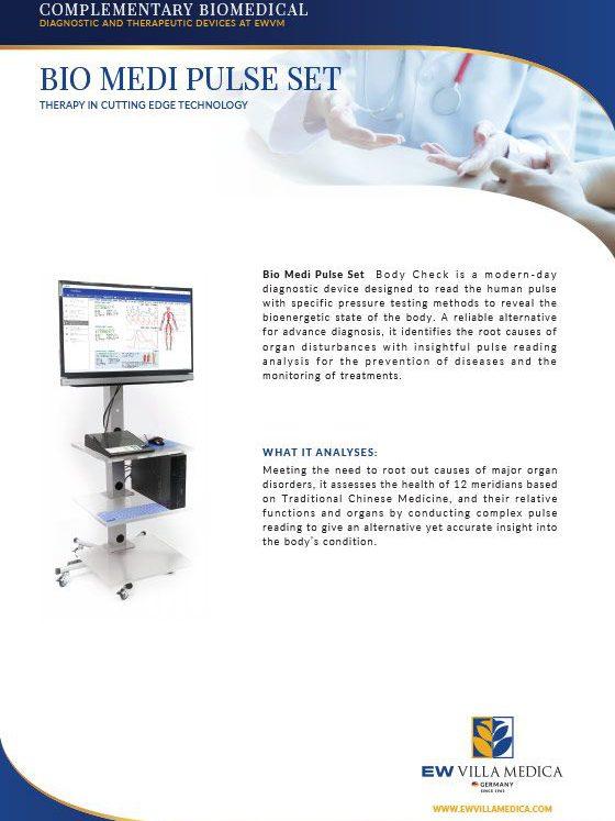 EW Villa Medica | BIO MEDI PULSE SET