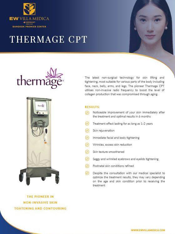 EW Villa Medica - Thermage CPT