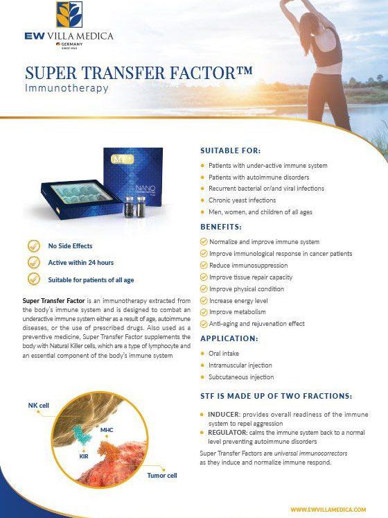 EW Villa Medica - Super Transfer Factor™