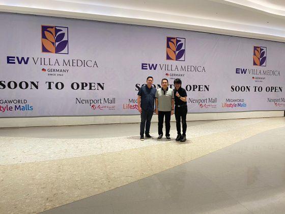 EW Villa Medica Manila Premier Center - Clinic opening soon
